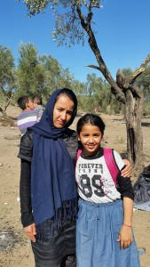 Alina and Nabila hope to get reunited with their parents as soon as possible / copyright: Salinia Stroux