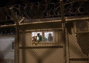 Unaccompanied minors in Moria FRC / copyright: Salinia Stroux