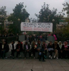 Victoria Square - Refugees Welcome
