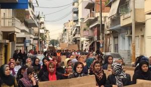 Schisto protest