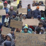 Refugee Protest at Moria Hot Spot - img © by Marily Stroux