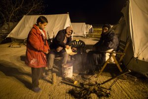 Three months in the cold / copyright Fatima Hassan