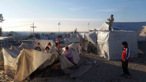 10 months in tents in Diavata Camp / copyright: Fatima Hassan